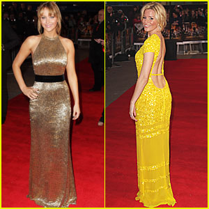 Jennifer Lawrence: 'Hunger Games' European Premiere!