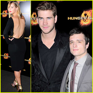 Jennifer Lawrence: 'Hunger Games' Paris Premiere!