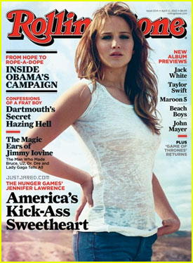 Jennifer Lawrence Covers 'Rolling Stone'