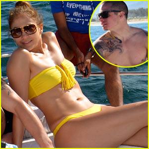 Jennifer Lopez: Brazil Bikini Babe with Casper Smart!