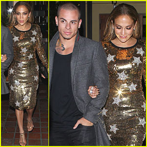 Jennifer Lopez: Casper Smart is Adorable!