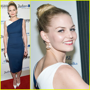 Jennifer Morrison: 'Michigan Avenue' Celebration