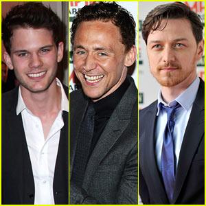 Jeremy Irvine & Tom Hiddleston: Empire Awards Red Carpet!