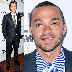 Liam Hemsworth & Jesse Williams: Cosmo Fun Fearless Awards!