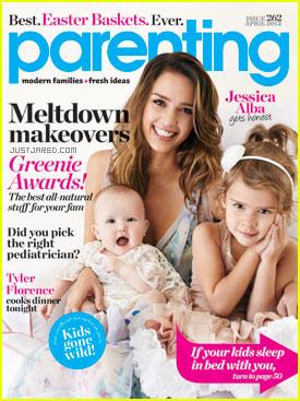 Jessica Alba Covers 'Parenting'