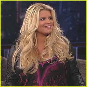 Jessica Simpson Talks Pregnancy on 'Jimmy Kimmel Live'
