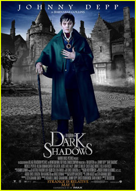 Johnny Depp: New 'Dark Shadows' Posters!