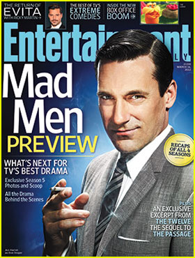 Jon Hamm: Don Draper Covers 'Entertainment Weekly'