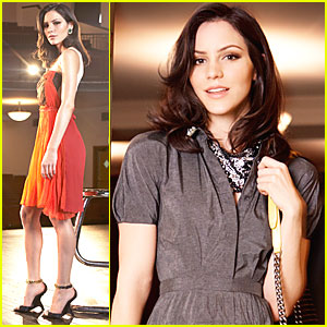 Katharine McPhee: Fashion Forward in 'Elle' Feature