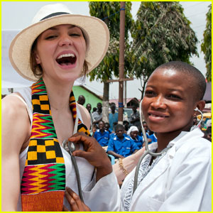Katharine McPhee: Malaria No More in Africa!