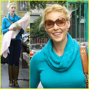 Katherine Heigl: Fabric Shopping with Mom