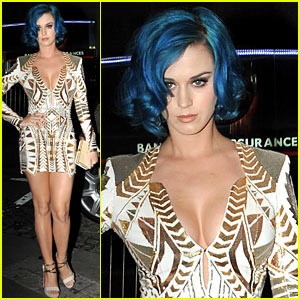 Katy Perry: Karl Lagerfeld Dinner Party!