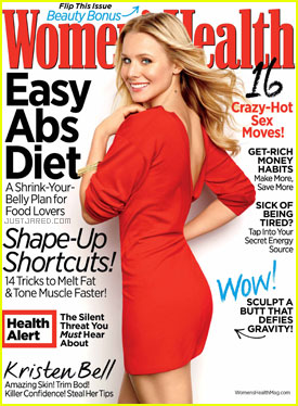 Kristen Bell Covers 'Women's Health' April 2012