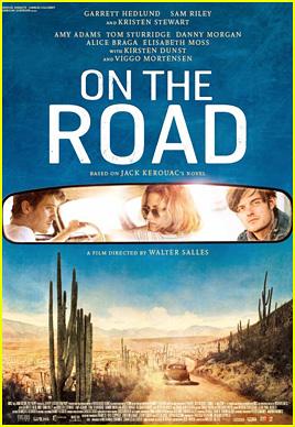 Kristen Stewart: 'On The Road' Poster!
