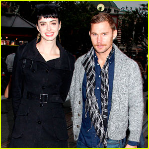 Krysten Ritter & Brian Geraghty Shop at The Grove
