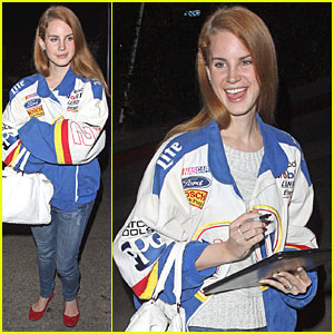 Lana Del Rey: Chateau Marmont for the Evening!