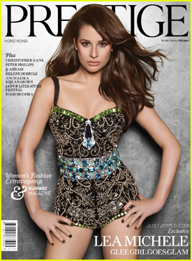 Lea Michele Covers 'Prestige' March 2012