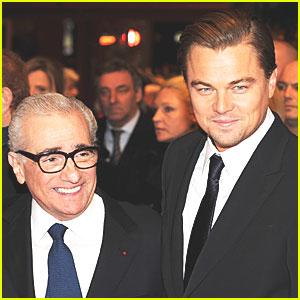 Leonardo DiCaprio & Martin Scorsese: 'Wolf of Wall Street'!