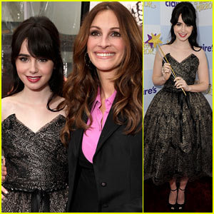 Lily Collins: 'Mirror Mirror' Premiere With Julia Roberts!