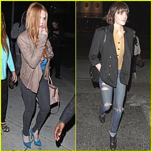 Lindsay Lohan & Aliana: Birthday Party at Gyu-Kaku!
