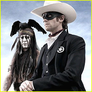 Johnny Depp & Armie Hammer: 'Lone Ranger' First Look!