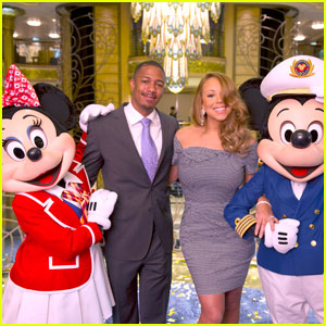 Mariah Carey & Nick Cannon: Disney Fantasy Christening Gala!