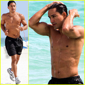 Mario Lopez: South Beach Hunk