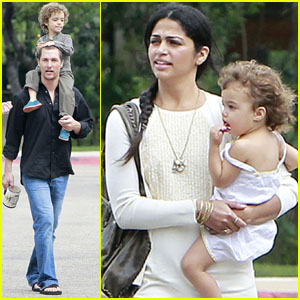 Matthew McConaughey: Sunday Family Time