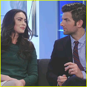 Megan Fox: 'Yes/No Show' with Adam Scott!