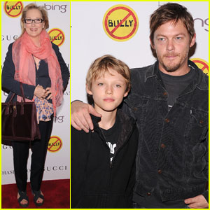 Meryl Streep Norman Reedus Bully Screening