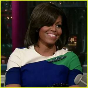 Michelle Obama Makes Her 'Letterman' Debut