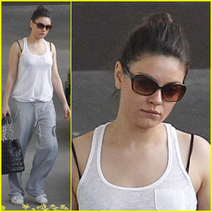 Mila Kunis: Midweek Workout