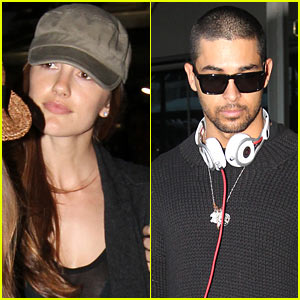 Minka Kelly & Wilmer Valderrama: Not A Couple!