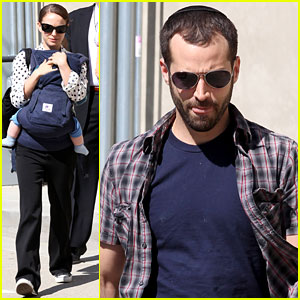 Natalie Portman: Temple Services with Benjamin & Aleph!