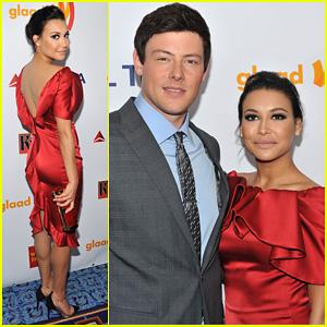 Naya Rivera & Cory Monteith: 2012 GLAAD Awards