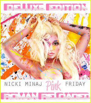 Nicki Minaj: 'Roman Reloaded' Deluxe Edition Cover!