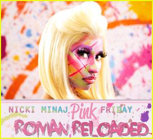 Nicki Minaj: 'Pink Friday: Roman Reloaded' Cover Revealed
