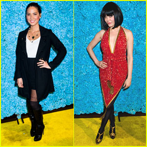 Olivia Munn & Rose McGowan: Just Jared's 30th Birthday Bash!