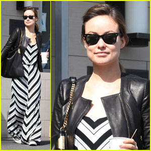 Olivia Wilde: Sizzling in Stripes!