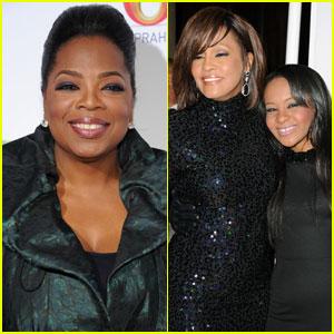 Oprah Winfrey Lands Whitney Houston Family Interview