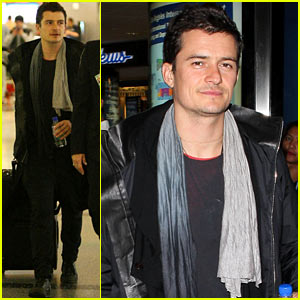 Orlando Bloom: Frequent Flyer!
