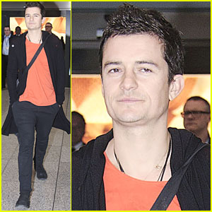 Orlando Bloom: 'Zulu' with Djimon Hounsou!