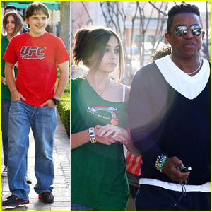 Paris & Prince Jackson: 'The Lorax' with Uncle Jermaine