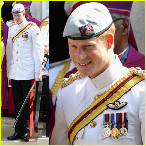 Prince Harry: Church Service in the Bahamas