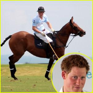 Prince Harry: Charity Polo Match in Sao Paulo