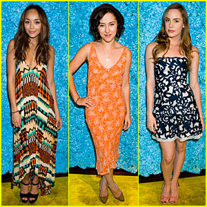 Revenge's Ashley Madekwe & Christa B. Allen: Just Jared's 30th Birthday Bash!