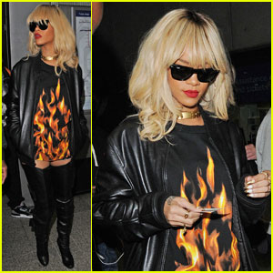Rihanna Takes the Tube to Drake's Concert