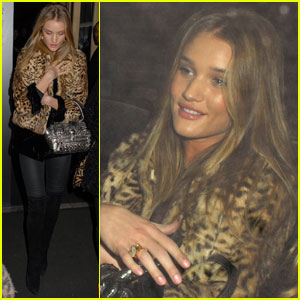 Megan Fox: Rosie Huntington-Whiteley Is A 'Very Likable Girl'