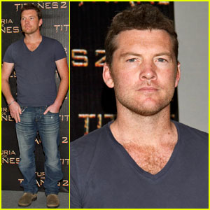 Sam Worthington: 'Wrath of the Titans' in Mexico!