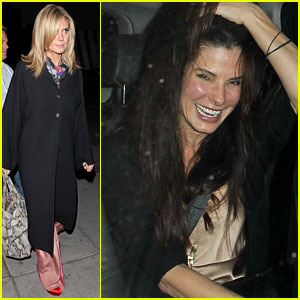 Sandra Bullock & Heidi Klum: Ladies' Night Out!